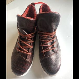 Toms Leather High Top Sneakers